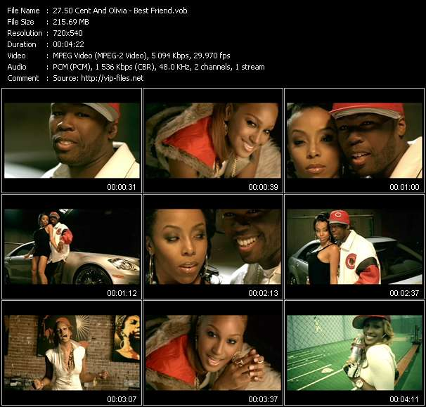 50 Cent And Olivia video screenshot