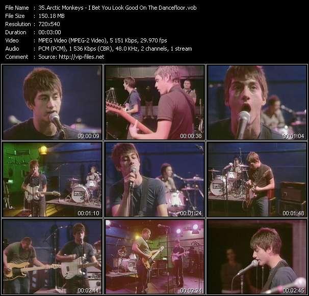 Arctic Monkeys video screenshot