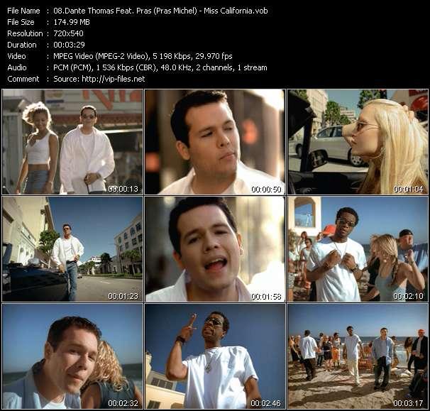 Dante Thomas Feat. Pras (Pras Michel) video screenshot