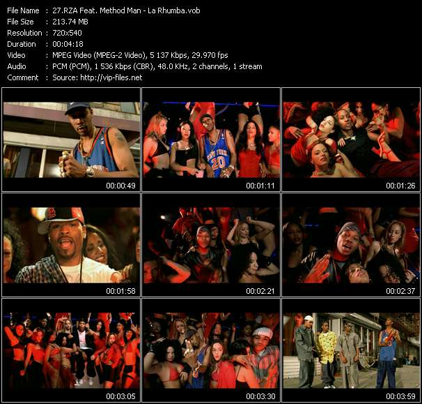 RZA Feat. Method Man video screenshot
