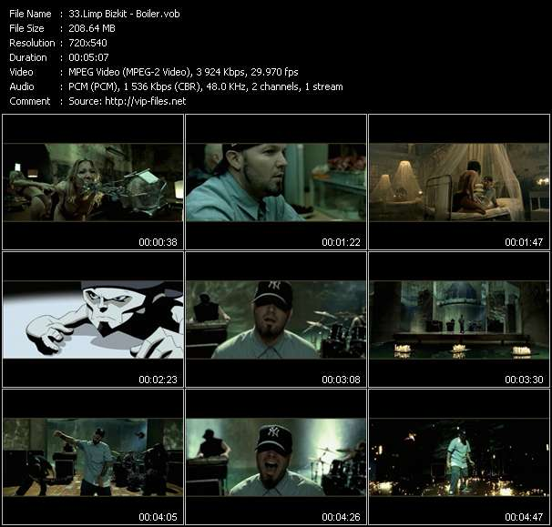 Limp Bizkit video screenshot