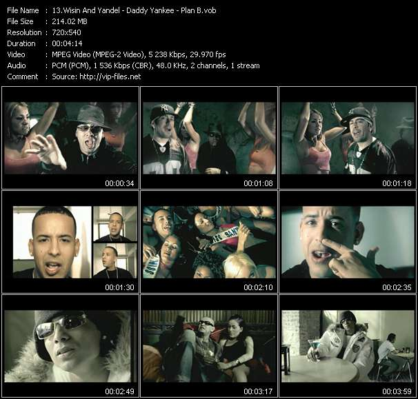 Wisin And Yandel - Daddy Yankee - Plan B video screenshot