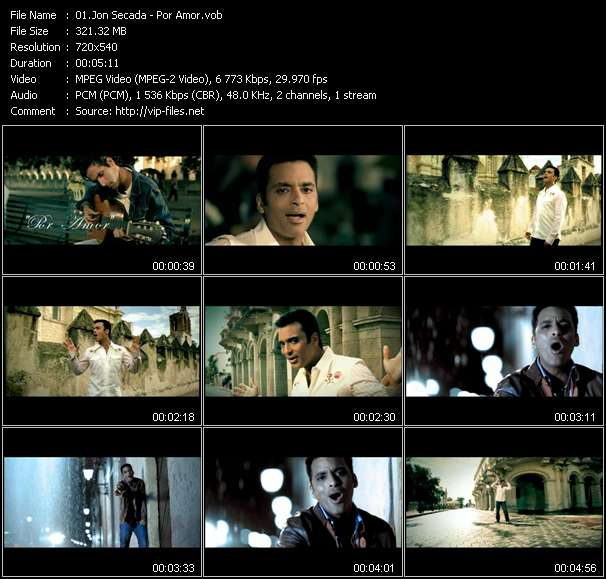 Jon Secada video screenshot