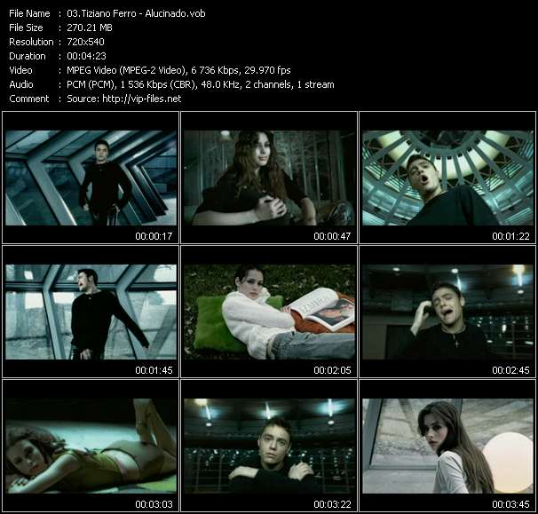 video Alucinado screen