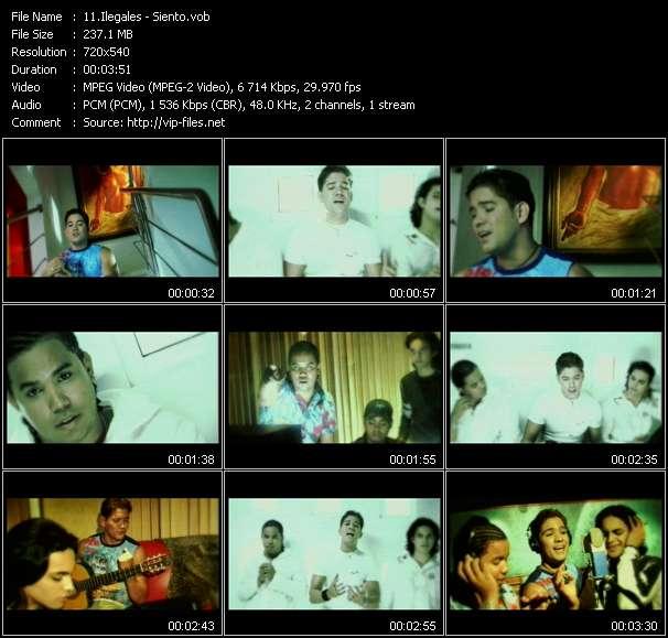 video Siento screen
