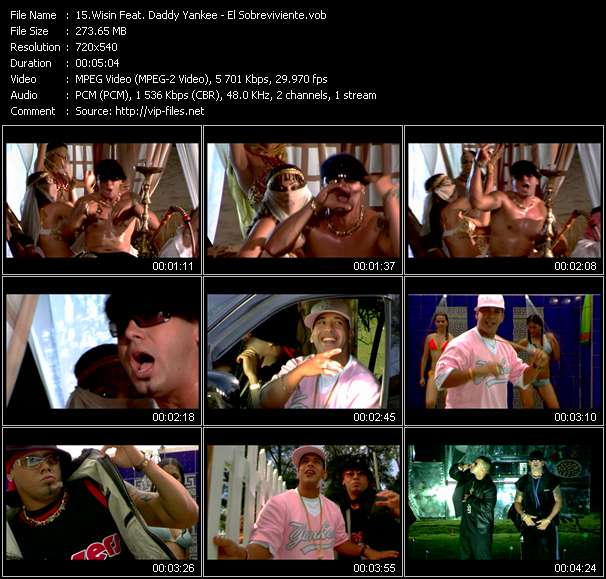 Wisin Feat. Daddy Yankee video screenshot