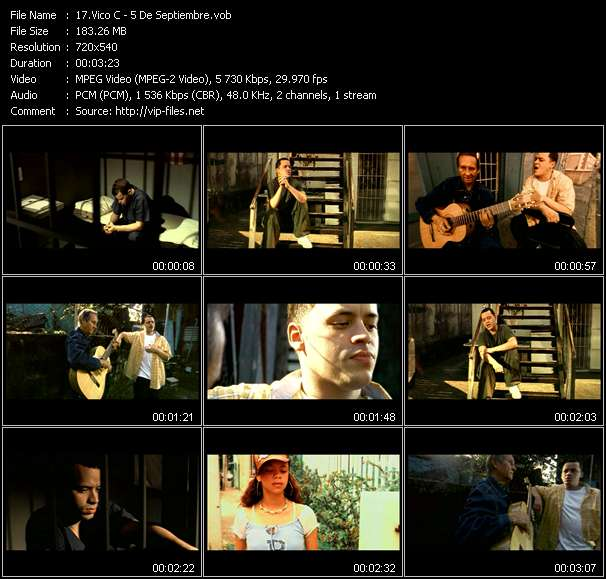Vico C video screenshot