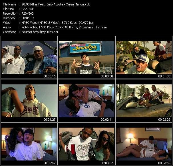 90 Millas Feat. Julio Acosta video screenshot