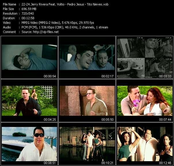 Jerry Rivera Feat. Voltio (Julio Voltio) - Pedro Jesus - Tito Nieves video screenshot