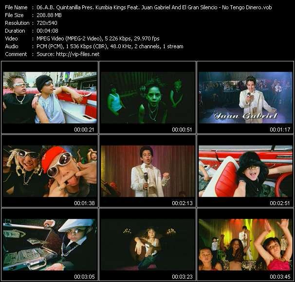 A.B. Quintanilla Pres. Kumbia Kings Feat. Juan Gabriel And El Gran Silencio video screenshot