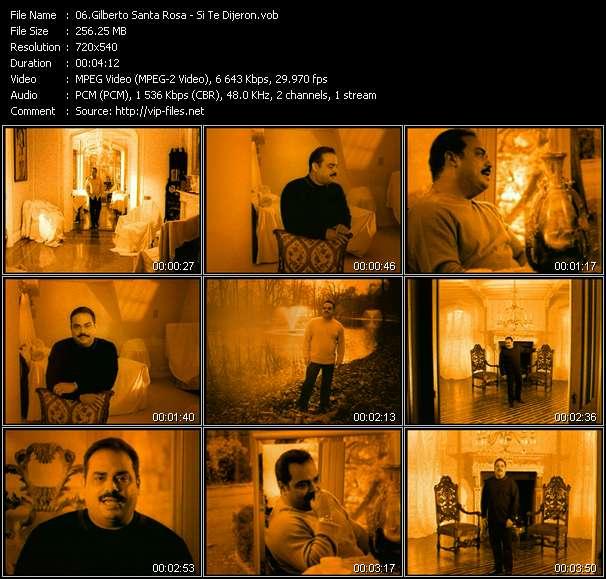 Gilberto Santa Rosa video screenshot