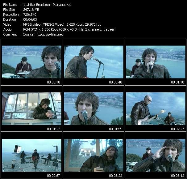 Mikel Erentxun video screenshot