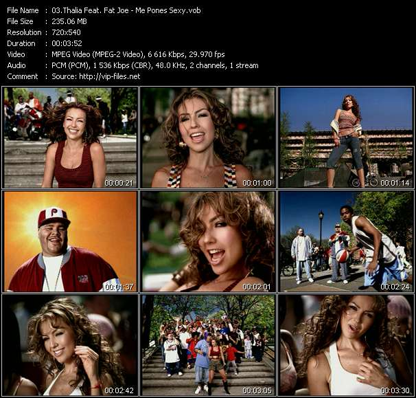 Thalia Feat. Fat Joe video screenshot