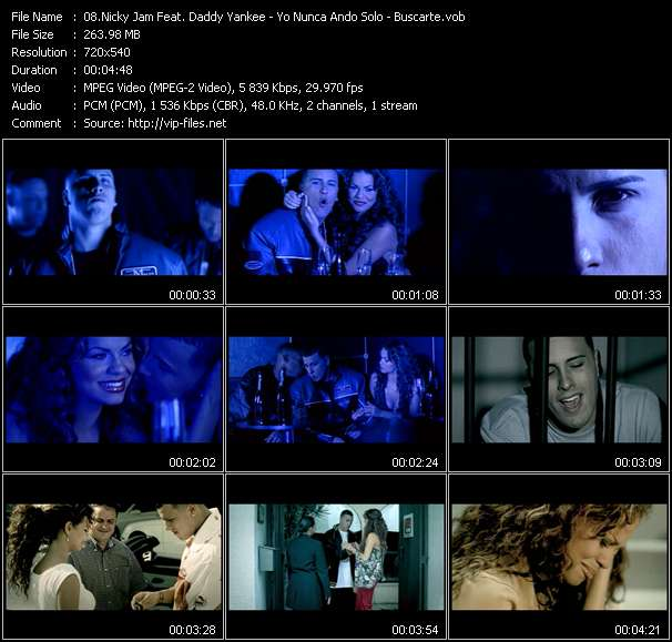 Nicky Jam Feat. Daddy Yankee video screenshot