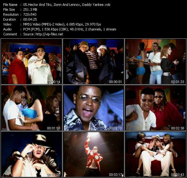 Dj Nelson Presents Luny Tunes And Noriega Mas Flow: Hector And Tito, Zionn And Lennox, Daddy Yankee video screenshot