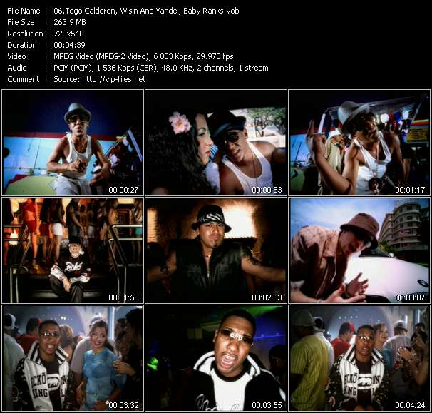 Dj Nelson Presents Luny Tunes And Noriega Mas Flow: Tego Calderon, Wisin And Yandel, Baby Ranks video screenshot