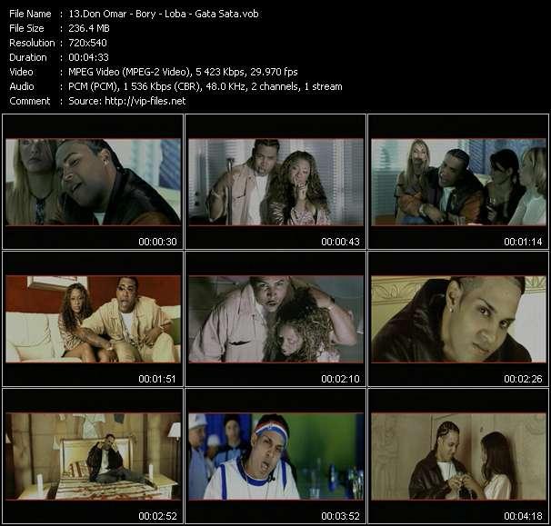 Dj Frank Time 2 Kill II: Don Omar - Bory video screenshot