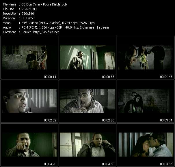 Don Omar video screenshot