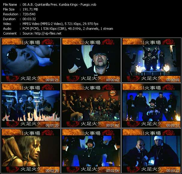 A.B. Quintanilla Pres. Kumbia Kings video screenshot