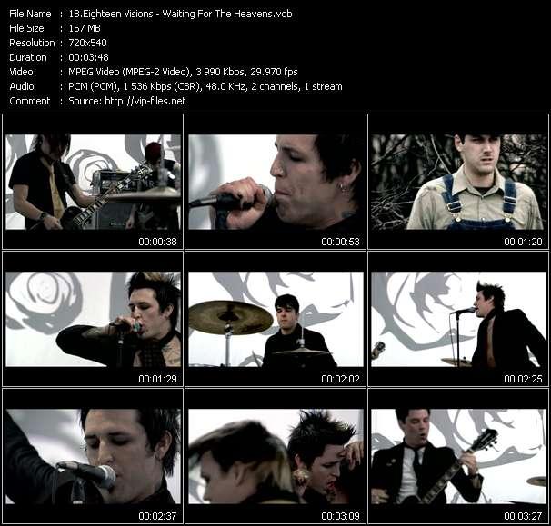 Eighteen Visions video screenshot