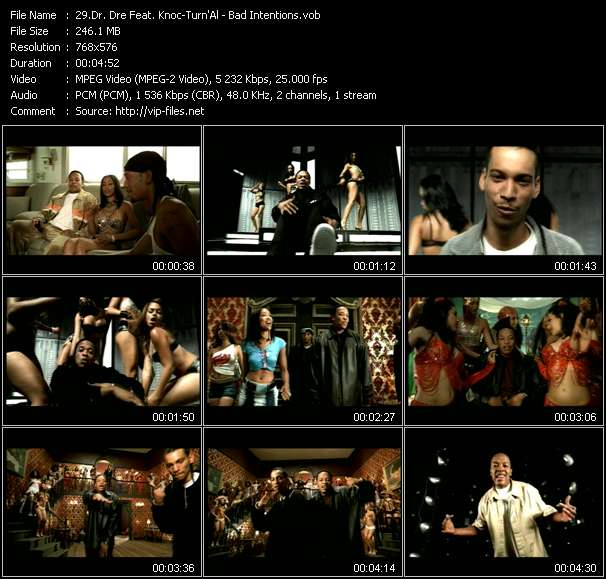 Dr. Dre Feat. Knoc-Turn'Al video screenshot