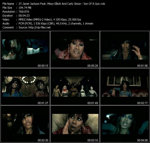 Janet Jackson Feat. Missy Elliott And Carly Simon video screenshot