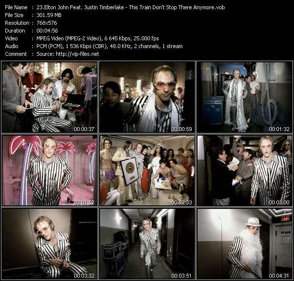 Elton John Feat. Justin Timberlake video screenshot