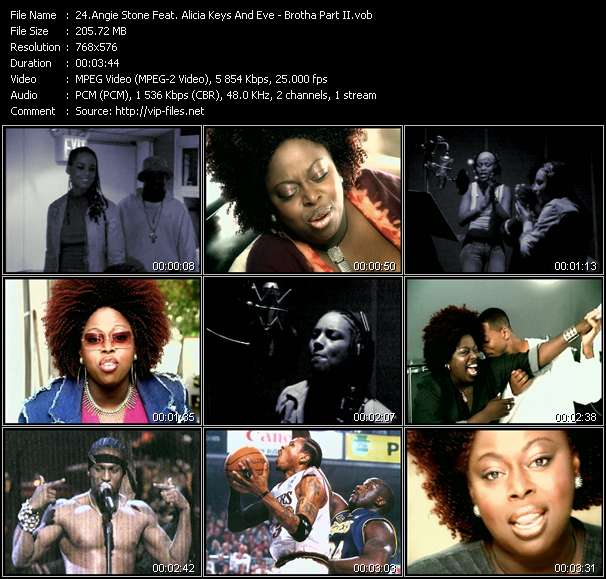 Angie Stone Feat. Alicia Keys And Eve video screenshot