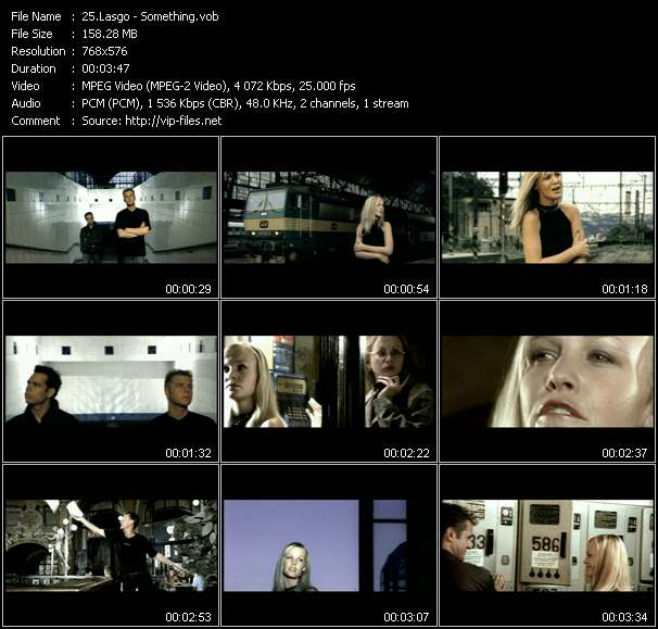 Lasgo video screenshot