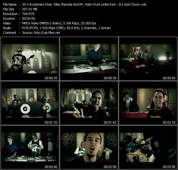 X-Ecutioners Feat. Mike Shinoda And Mr. Hahn From Linkin Park video screenshot