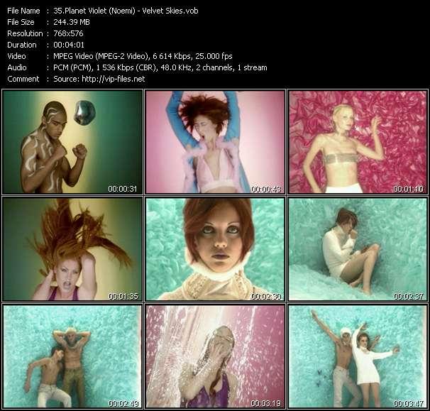 video Velvet Skies screen