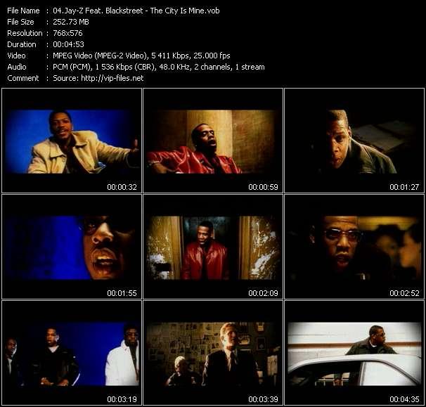Jay-Z Feat. Blackstreet video screenshot