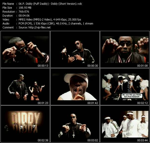 video Diddy (Short Version) screen