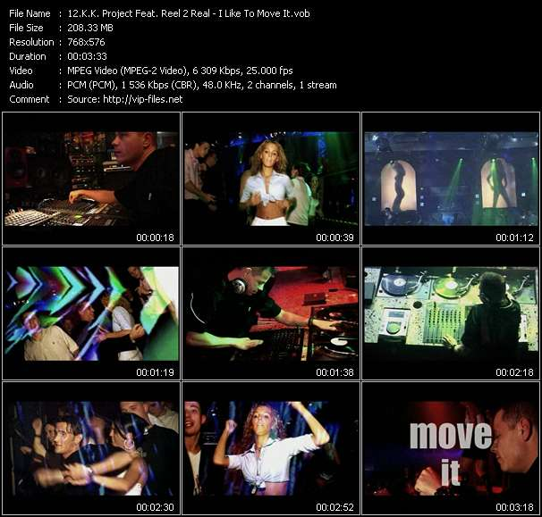 video I Like To Move It screen