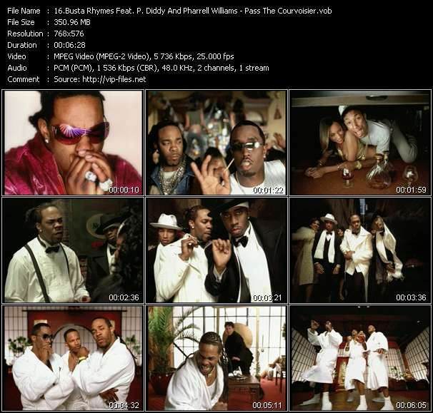 Busta Rhymes Feat. P. Diddy (Puff Daddy) And Pharrell Williams video screenshot
