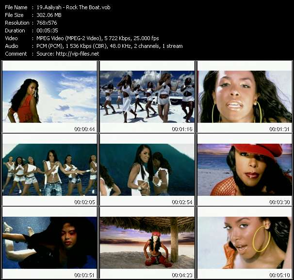 video Rock The Boat screen