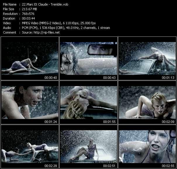 video Tremble screen