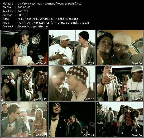 N'Sync Feat. Nelly video screenshot