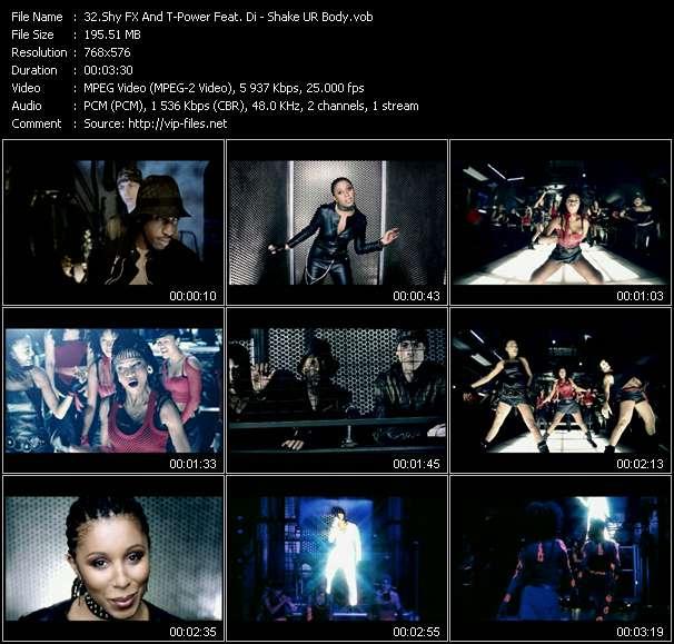 video Shake UR Body screen