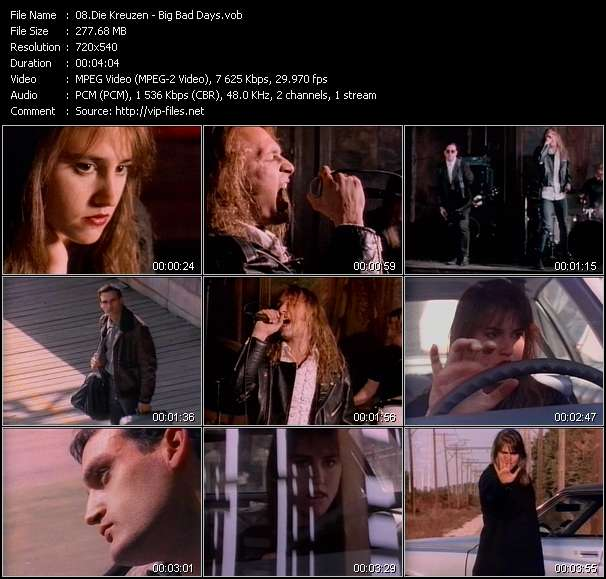 Die Kreuzen video screenshot