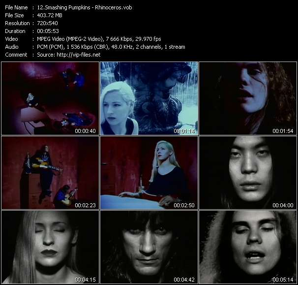 Smashing Pumpkins video screenshot