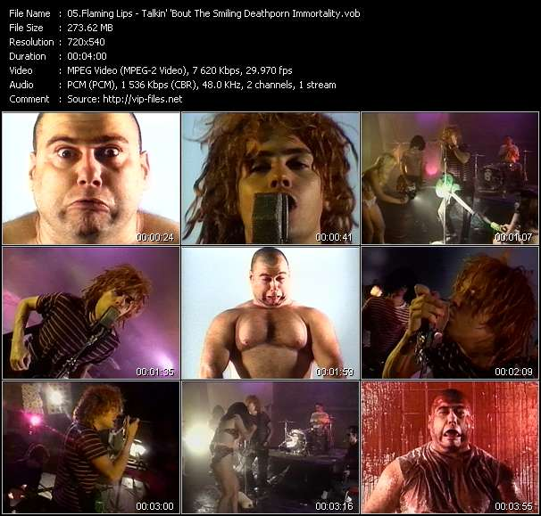 Flaming Lips video screenshot