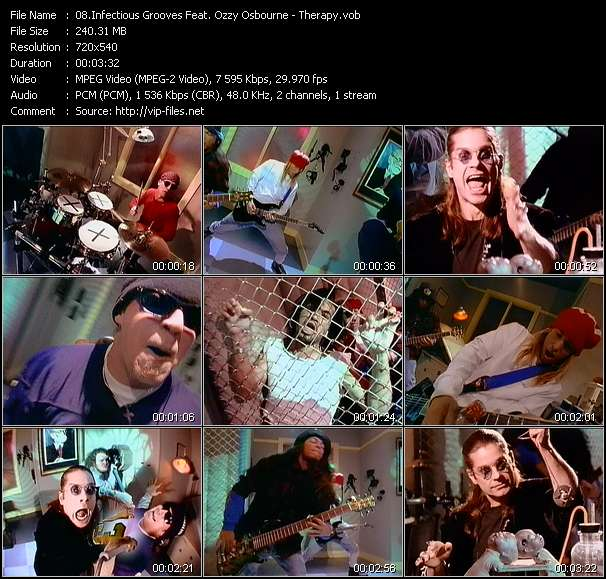 Infectious Grooves Feat. Ozzy Osbourne video screenshot