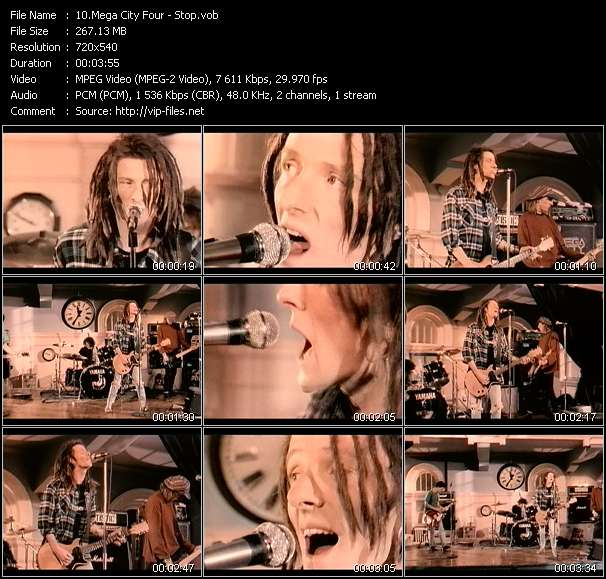 Mega City Four video screenshot