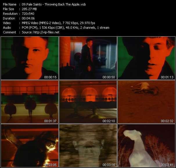 Pale Saints video screenshot