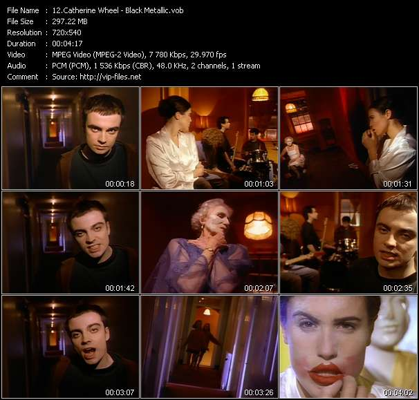 Catherine Wheel video screenshot