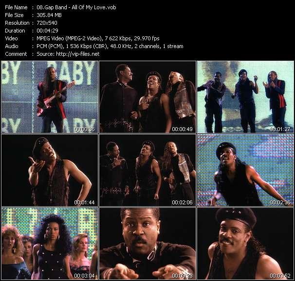 Gap Band video screenshot