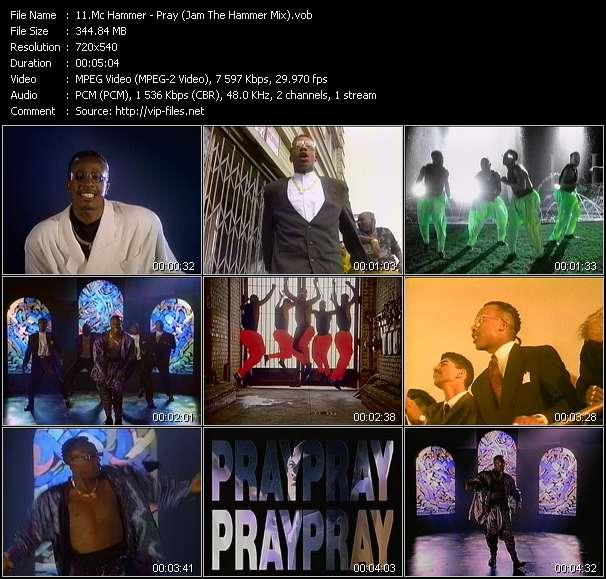 video Pray (Jam The Hammer Mix) screen