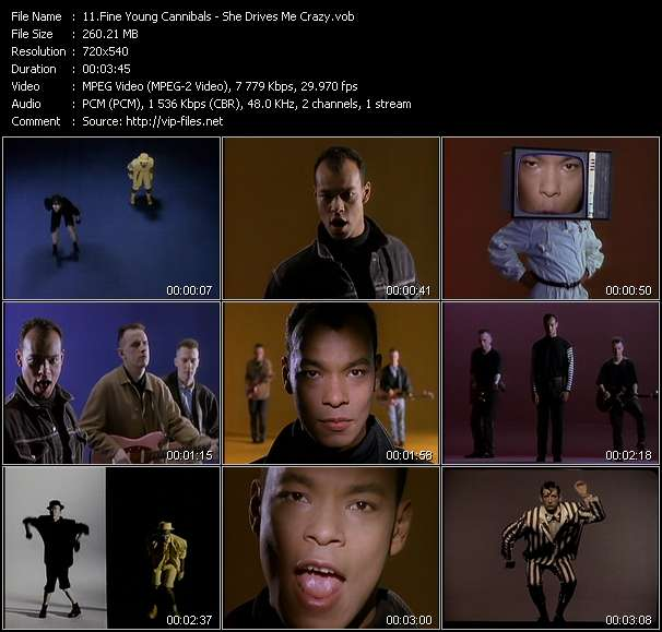 Fine Young Cannibals video screenshot