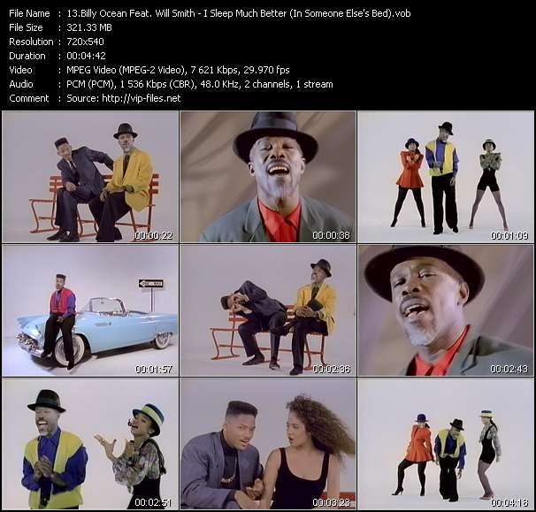 Billy Ocean Feat. Will Smith video screenshot